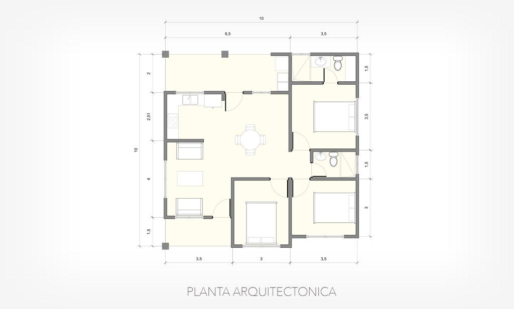 casa-LARIMAR-distribucion